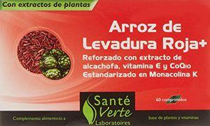 ofertas para - santé verte arroz levadura roja coq10 60 comprimidos