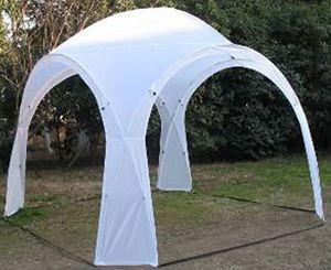 deals for - eventzelt hurricane tlc126 pavillon partyzelt sonnenschutz weiß 320x320x250cm