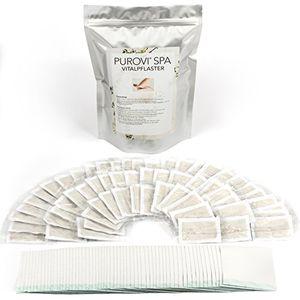 Hot Purovi® 60 Parches de Pies Detox | Parches para Purificar | Desintoxicante y Revitalizante | Anti Estrés, Migrañas e Insomnio Con Descuento