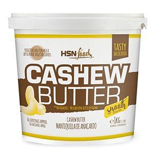 ofertas para - hsn foods mantequilla de anacardos con textura cremosa y suave 100 natural cashew butter smooth apto vegetariano sin grasa de palma sin grasa trans sin azúcar ni sal añadidos 1000g