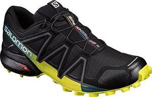 salomon speedcross 4 herren trailrunning schuhe schwarz blackevergladesulphur spring 46 eu