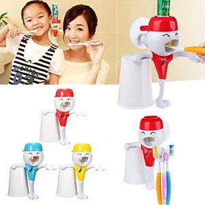 Angebote für -bazaar kinder cartoon lustiges automatische zahnpasta presse mit zahnbã¼rstenhalter