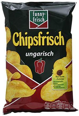 funny frisch chipsfrisch ungarisch 12er pack 12 x 50 g
