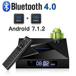 globmall x4 android 71 smart tv box 2 gb ram 16 gb bluetooth 40 amlogic quad core cpu 4 karat 3d 24 g wifi android box