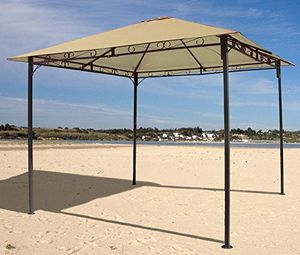 photos of Gartenpavillon Antik Pavillon Partyzelt 3x3m Sand Heute Deals Kaufen   model Furniture