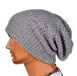 amcool unisex slouchy beanie mütze strickmützen skull cap winter sackmütze