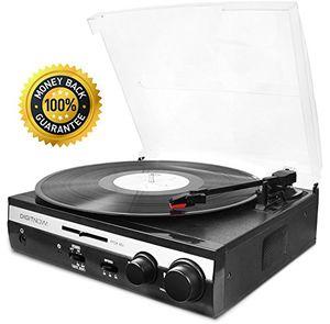 Angebote für -digitnow plattenspieler mit integrierten lautsprecher system lautsprecher hi fi riemenantrieb nadel einschließlich kompaktes design schwarz