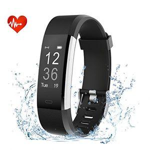 Angebote für -efoshm id115plus hr smart armbandfitness tracker bluetooth 40 fitness armband unterstützung ios71 oben android44 und höher schwarz