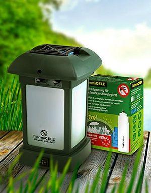 deals for - thermacell paket party 60 std mückenschutz im set inkl camping laterne mr 9l und nachfüllpack r 4