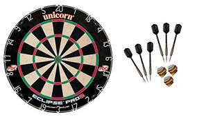 Review for unicorn dart board eclipse pro2 bristle board 6 mcdart steeldarts 6 steeldarts