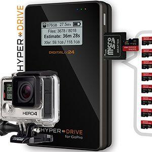 """2000 gb 2tb ssd hyperdrive for gopro mobiler fotospeicher videospeicher datenspeicher für gopro und andere action kameras digitalkameras camcorder und externe festplatte 635 cm 25"""" sata hdd usb 30 lcd display sdxcsdhcsd kartenleser 30mbs backup bis 350 gb backup pro akkuladung 3850mah akku hdgp mit integriertem 2000gb 2 tb ssd solid state drive ssd angebot von digitalix24"""