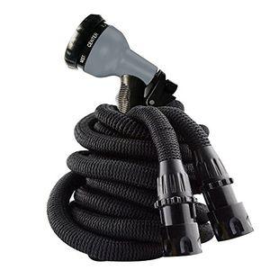 Hot premium flexibler gartenschlauch dehnbar bis 2286 m mit multifunktion düse 8 arten brause für bewässerung gartenarbeit autowäsche reinigung