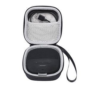 deals for - bose soundlink micro taschen schalen eva hart fall reise passend für ladegeräte und kabel tragen tasche für bose soundlink micro bluetooth lautsprecher schwarz