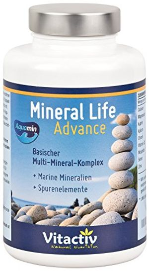 Cheap mineral life advance organische mineralien mit aquamin für gesunden säure basen haushalt 120 kapseln