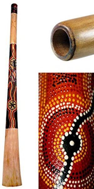 photos of Terre Didgeridoo Teak Bemalt 130cm Heute Deals Kaufen   model Musical Instruments