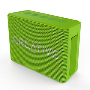deals for - creative muvo 1c leistungsstarker kompakter wetterfester wireless bluetooth lautsprecher für apple iosandroid smartphone tabletmp3 grün