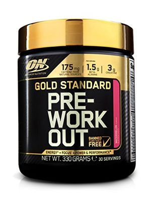 Optimum Nutrition Gold Standard Pre-Workout Pre-Entreno, Sandía - 330 g Hot oferta