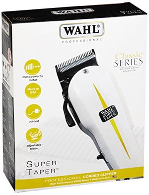 Wahl Super Taper - Maquina cortapelos, cuchillas cromadas, con accesorios día Ventajas Desventajas Padres