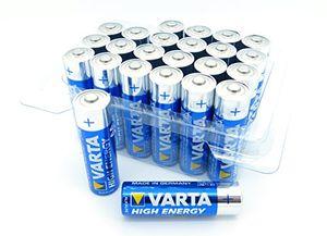 Hot varta 24x high energy mignon aa batterie alkaline mn1500 sonderpack lr6