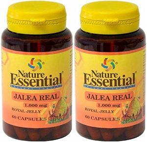 Comprar Jalea Real 1000MG 60 CAPS. Nature Essential (Pack 2u.) con el envío libre