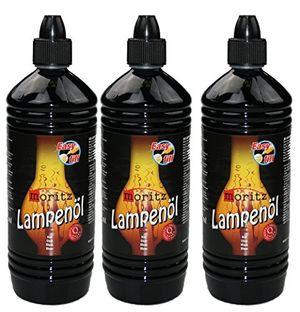 deals for - moritz lampenöl für öllampen bambusfackeln gartenfackel und wandfackeln wählen sie 1361224 liter 3 liter