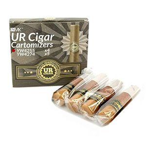 4x Cartomizador YW4255 (sabor: puro cubano) para Puro electr¨®nico recargable ISMK UR-CIGAR (sin nicotina y sin tabaco) día Ventajas Desventajas Padres