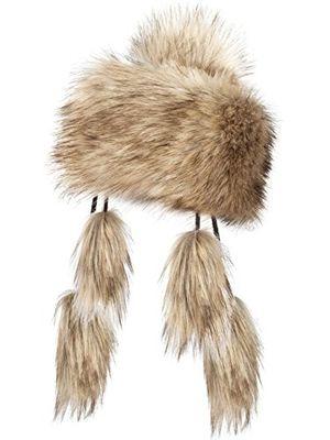 Angebote für -futrzane mongolische fellmütze strickmütze mütze bommel fell wintermütze pelzmütze sibirische wolf