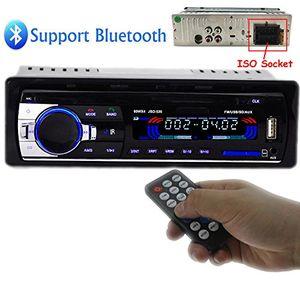 polarlander autoradio audio usb sd mp3 player receiver bluetooth freisprecheinrichtung mit fernbedienung schwarz 1 din