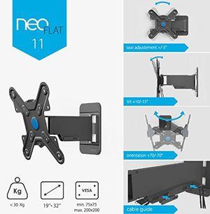 Angebote für -conecto neo11 by exelium tv wandhalterung neigbar schwenkbar ausziehbar für led lcd fernseher monitor 19 zoll 32 zoll schwarz