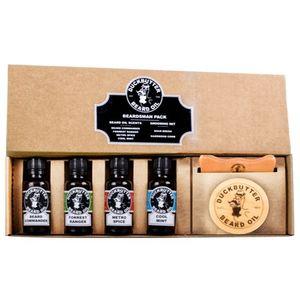 Comprar DUCKBUTTER Aceite Para Barba de Duck Butter - Paquete Beardsman - 4 Aromas con Juego de Cepillo y Peine para Regalo | Beardsman Pack Con Descuento