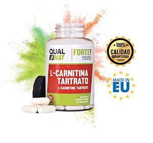 L-Carnitina para potenciar el rendimiento deportivo - Suplemento alimenticio de carnitina con función quemagrasas y de antioxidante natural para ayudar a perder peso realizando deporte - 90 cápsulas Mejor oferta