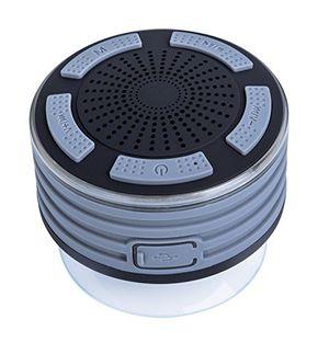 dusche lautsprecher stoga ip67 wasserdicht unterwasser stoß drahtlose bluetooth stereo lautsprecher eingebautes mikrofon für freisprechfunktion mit fm radio mp3 player und multiple color led licht funktionen hellblau
