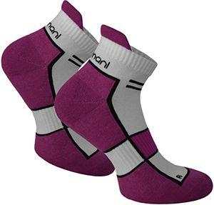 deals for - 2 paar bis 10 paar sneaker running laufsocken funktionssocken mit frotteesohle und stützfunktion farbe dewberry größe 3942 2 paar