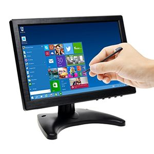 deals for - toguard 101 inch ips touch monitor bildschirm mit eingabestift farbe ultra dünn hd 1280 800 video monitor display mit bncavhdmivga video eingang kopfhörer ausgang integrierter lautsprecher
