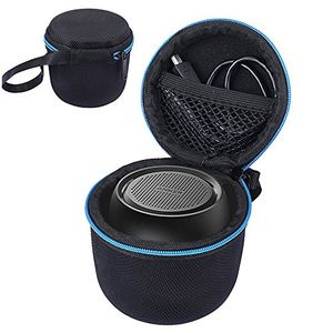 deals for - tasche für anker soundcore mini super mobiler bluetooth lautsprecher speaker kabelloser lautsprecher passend für usb kabel und ladegerät schwarz