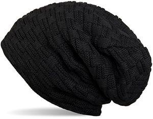 Angebote für -stylebreaker warme feinstrick beanie mütze mit flecht muster und sehr weichem fleece innenfutter unisex 04024058 farbeschwarz