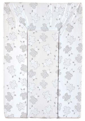 Calientes Looping BCLP+ - Colchón cambiador con triple espuma de seguridad, PVC, 48 x 77 cm, diseño de conejos Guía