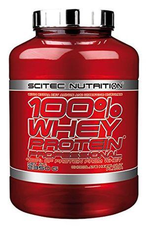 ofertas para - scitec whey protein professional mezcla de proteína de suero chocolate con avellana 2350 gr