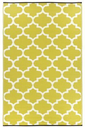 deals for - fab hab tangier sellerie weiß teppich matte für den innen und außenbereich 90 cm x 150 cm