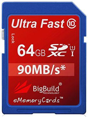 photos of EMemoryCards 64GB/64GIG Ultra Fast 80MB/s Class 10 SDXC Memory Card For Panasonic Lumix DMC FZ62 Camera Hot Deals Kaufen   model CE