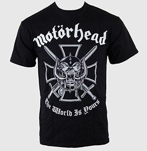 herren t shirt motã¶rhead iron cross the world is yours mheadtee03mb emi xl size
