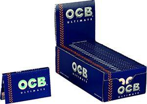 Buy OCB 15424 ultimate Rolling Papers, corto de papel,{25} regalos a{100} hojas ofertas de hoy