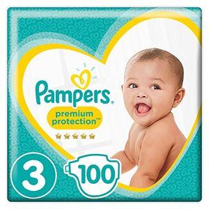 Cheap Pampers - Premium Protection - Couches Taille 3 (5-9 Kg) 50 couches - Pack Géant - lot de 2 (100 couches) día Ventajas Desventajas Padres