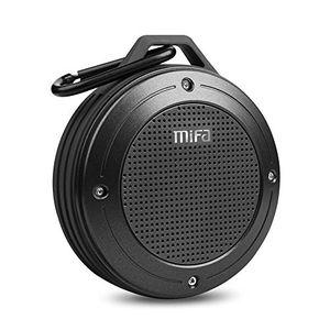 deals for - mifa hifi lautsprecher bluetooth tragbare ip56 wasserfest und staubdicht outdoor lautsprecher wireless speaker eingebautem mikrofon für iphone ipad samsung nexus huawei grau