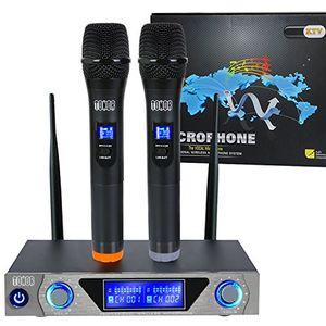 Angebote für -vhf funkmikrofon set handhelddrahtloses mikrofon system mit dual handheld dynamischen mikrofone und lcd display für karaoke party sitzung