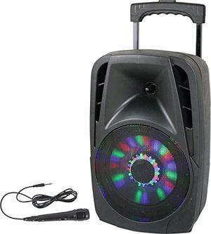 Angebote für -party light sound party 8led tragbares soundsystem 20 cm 8 zoll 300w mit usb bluetooth fm und mikrofon 1 stück