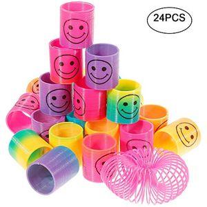 Angebote für -goldge 24pcs springs magic rainbow lächeln regenbogenkreis regenbogen strolchepuzzle lernspielzeug mitgebsel kindergeburtstag spielzeugparty