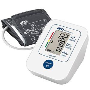 Reseña A&D UA-611 Tensiómetro de brazo digital, lecturas de presión arterial rápidas, cómodas y precisas, validado clínicamente con el envío libre