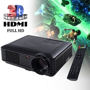 deals for - costway led lcd beamer projektor heimbeamer videoprojektor tv beamer usbhdmivagtvvideo heimkino foto home theater 2600 lumen für ktvsmartphonepc full hd 1080p