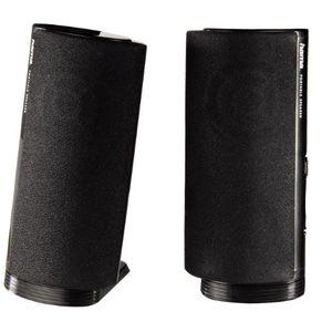 hama multimedia lautsprecher e 80 pc lautsprecher mit 35 mm klinke usb 25 w aktive boxen für computer laptop notebook smartphone tablet schwarz
